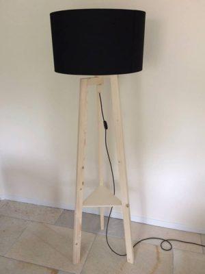 houten staande vloerlamp 1 anmata-store
