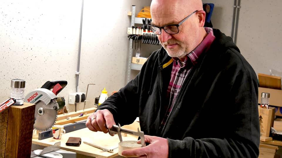 Ed Engbers aan het werk - anmata store